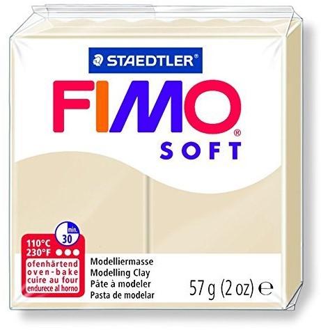 Fimo soft boetseerklei 57g sahara
