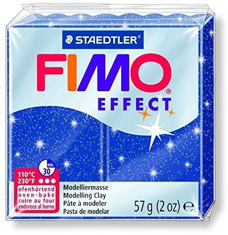 Fimo effect boetseerklei 57g metallic blauw