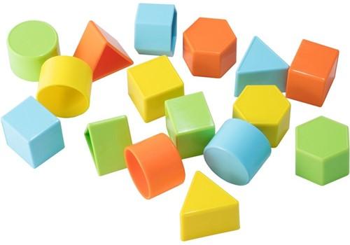 Spielstabil 16 Mini Geo Zandvormen