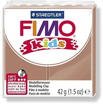 Fimo kids boetseerklei 42g licht bruin