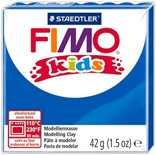 Fimo kids boetseerklei 42g blauw