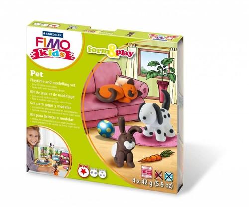 "Fimo kids Form&Play """"Huisdieren"""""