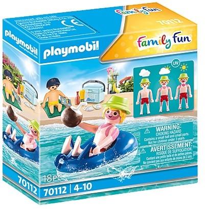 Playmobil 70112 Vacancier avec coups de soleil et bouée