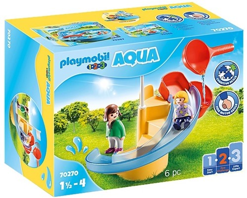 Playmobil Toboggan aquatique  - 70270