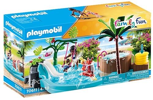 Playmobil 70611 Pataugeoire avec bain à bulles