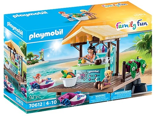 Playmobil 70612 Bar flottant et vacanciers