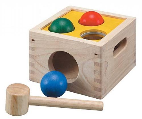 PlanToys Punch & Drop jouet à moteur
