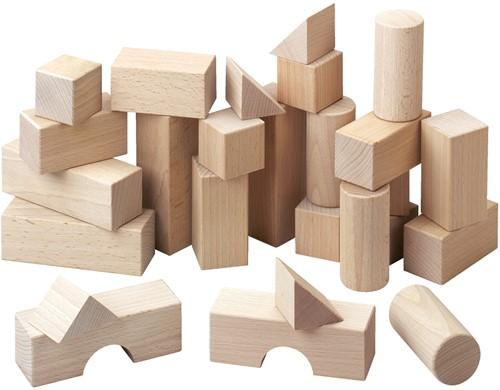 HABA Blocs de construction - Boîte de base (26 pièces)
