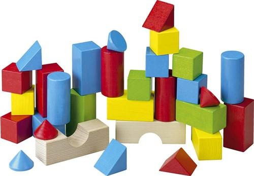 HABA Blocs de construction - Blocs de couleur (30 pièces)