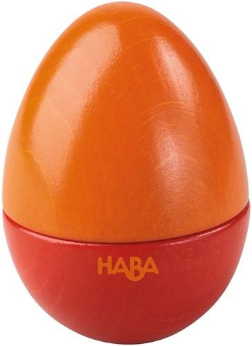 HABA Instruments de musique - Présentoir Œufs musicaux (6 pièces par couleur)