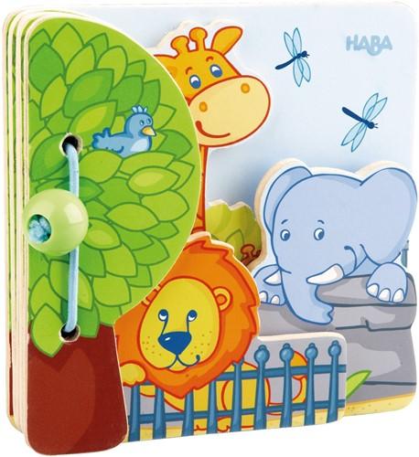 HABA Livre pour bébé Les amis du zoo