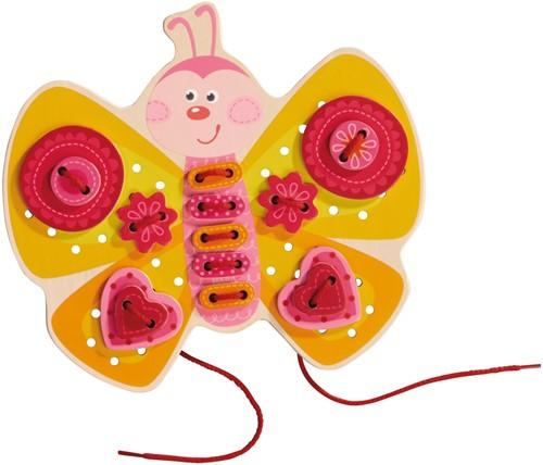 HABA Jeu de laçage Papillon