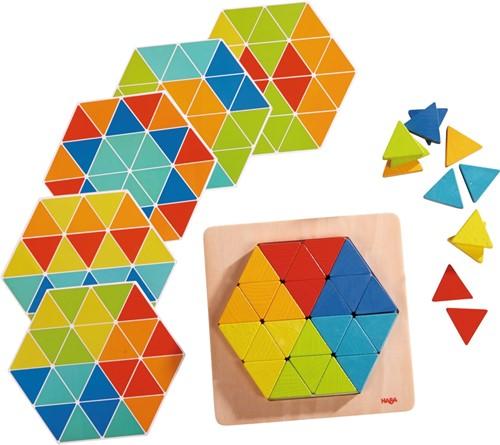 HABA Jeu d'assemblage Triangles magiques