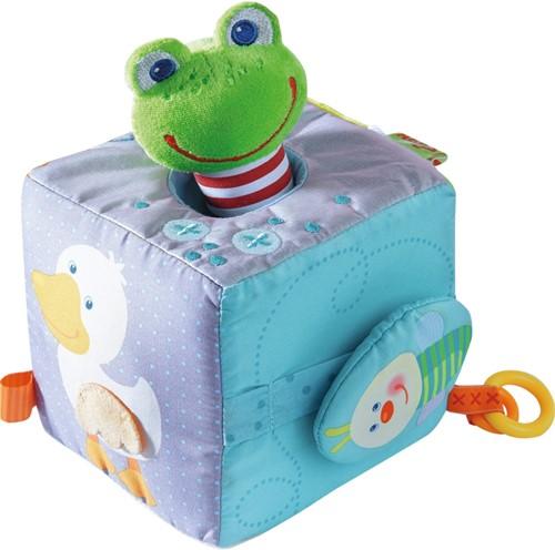 HABA Cube-jouet Grenouille magique