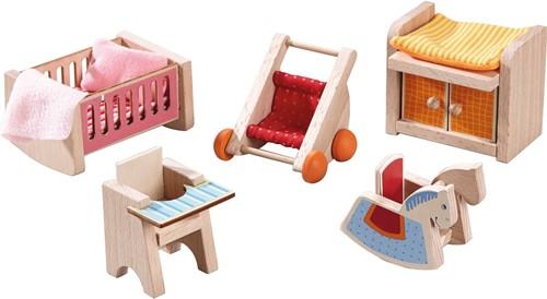HABA Little Friends - Meubles pour maison de poupée Chambre d'enfant