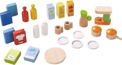HABA Little Friends - Accessoires pour maison de poupées Cuisine