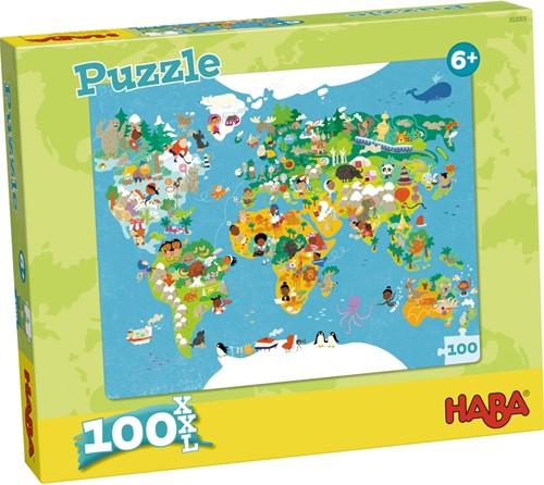 HABA Puzzle - Carte du monde