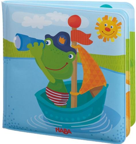 HABA Livre de bain Capitaine grenouille