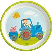HABA Assiette Tracteur