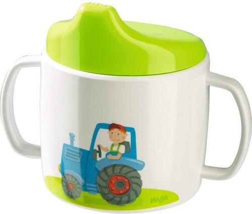 HABA Tasse à bec Tracteur