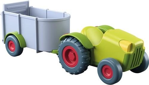 HABA Little Friends - Tracteur avec remorque