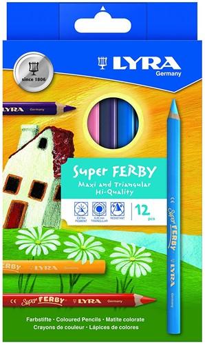 Lyra 3721120 crayon de couleur 12 pièce(s)