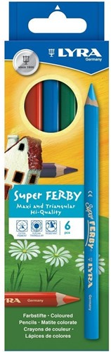 Lyra SUPER FERBY® CARDBOARD BOX K06 BASIC