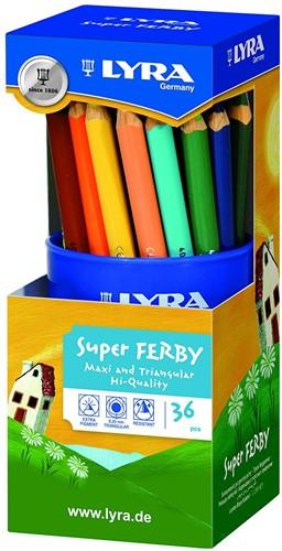 Lyra Pot of 36 Super-FERBY® asst'd