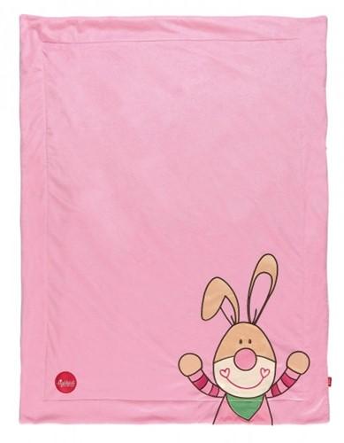 sigikid Bungee Bunny Couverture pour bébé Rose Garà§on/Fille