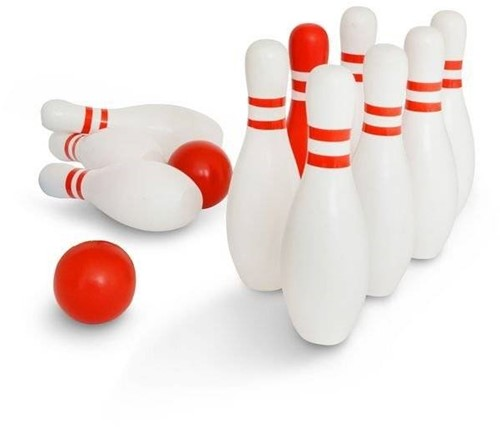 BS Toys Bowling en bois