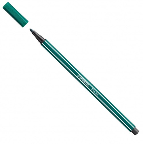 STABILO Pen 68 stylo-feutre Vert, Turquoise 1 pièce(s)