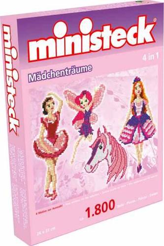 Ministeck - Filles à rêver 4-in-1 mini coffret