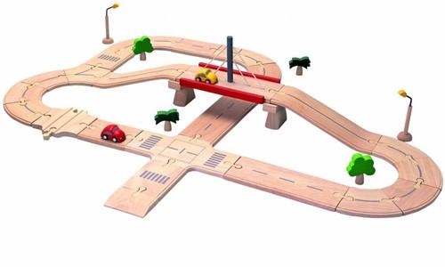 PlanToys 6078 piste de jouet électrique