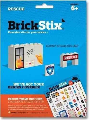 Planet Happy  BrickStix Stickers: Rescue