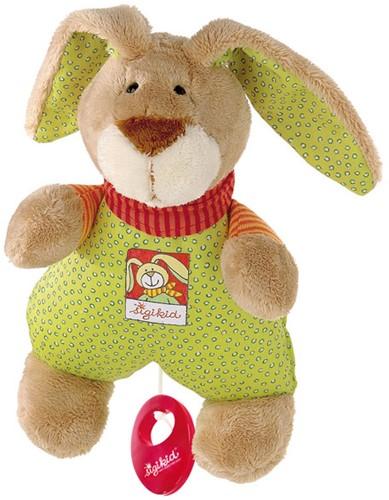 sigikid muziekknuffel konijn Wombel Bombel 48086