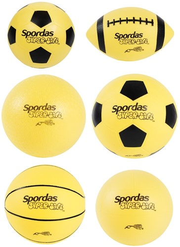 Megaform Set of 6 SuperSafe Sport Balls