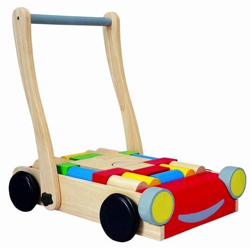 PlanToys 5123 jouet à tirer et à pousser