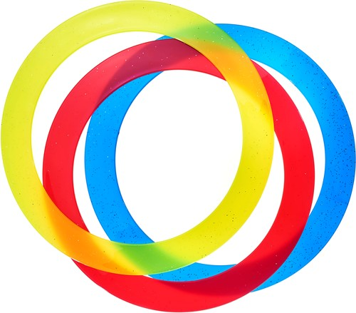 Acrobat - Set 3 Juggling Rings (d. 32 cm)