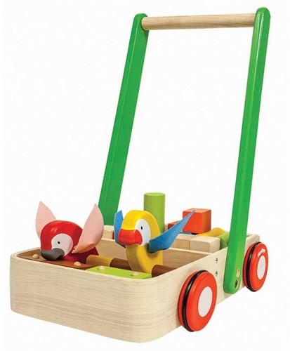 PlanToys 5176 jouet à tirer et à pousser