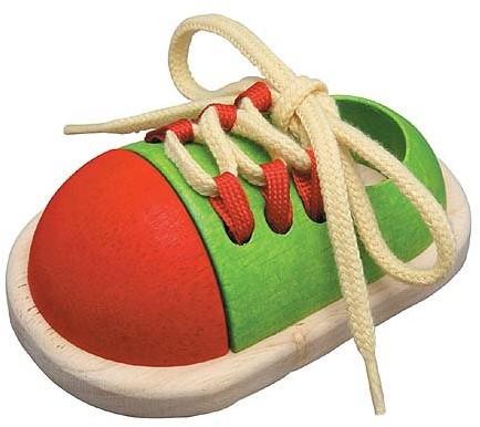 PlanToys Tie-up Shoe jouet à moteur