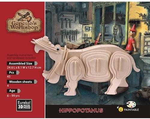 Eureka Gepetto's Workshop - Hippopotamus