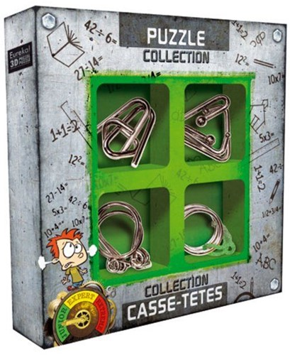 Eureka puzzel Junior Metal Puzzles collection