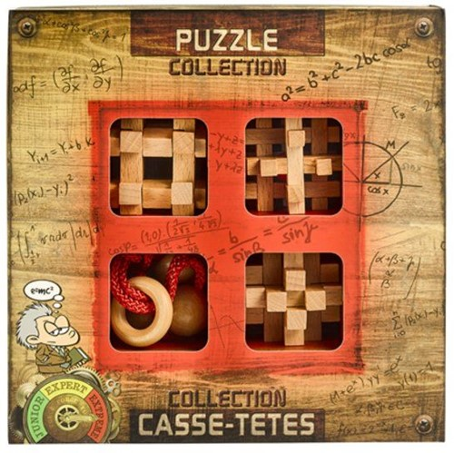 Eureka puzzel Extreme Wooden Puzzles collection