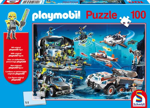Schmidt Playmobil, Top Agents, 100 stukjes