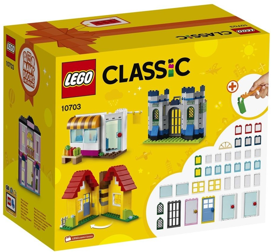 lego classic bo te de constructions urbaines 10703. Black Bedroom Furniture Sets. Home Design Ideas