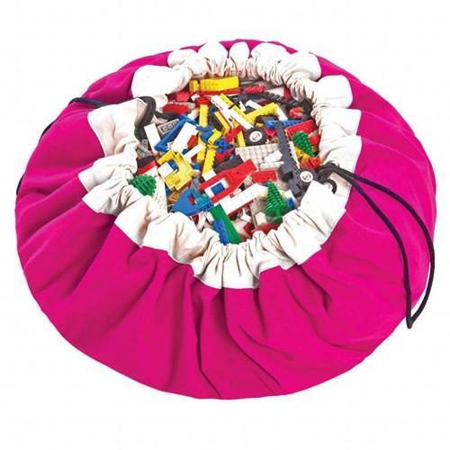 play&go - sac de rangement fuchsia