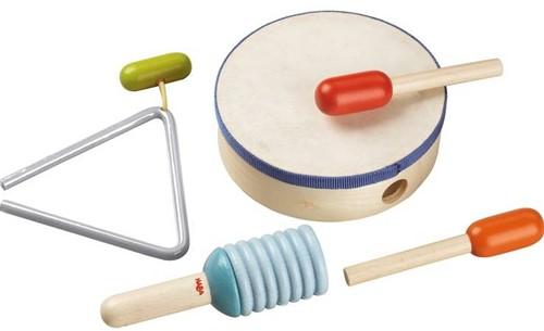 HABA Instruments de musique - Coffret Rythmes
