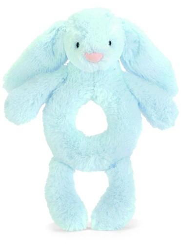 Jellycat - Doudou- Bashful Bleu Lapin Grabber