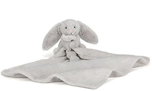 Jellycat - Doudou Bashful Silver Lapin Soother 34cm