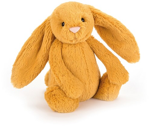 Jellycat knuffel bashful Lapin Safran medium 31cm